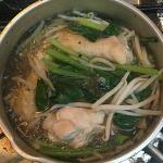 「紹興酒」を買って「手羽元と小松菜の中国風煮」を作ってみました