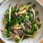 『男子の自慢ごはん』で作ってほしい料理、第 15位の「青椒肉絲(チンジャオロースー)」に挑戦