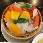 創作中華酒房「幸宴(こうえん)」で「たっぷり野菜」のセイロ蒸定食をいただく(吉祥寺ランチ)