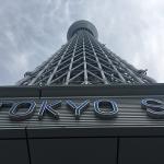 「東京スカイツリー」の展覧デッキに上り「東京ドーム」で野球観戦という豪華な一日