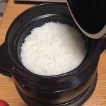 欲しかった炊飯鍋「黒楽 かまどご飯釜 小」を購入して炊いてみました