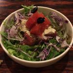 「吉祥寺スイーツブック」の最後は「イルカッフェ」でローストビーフ丼セット+本日のデザート