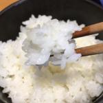 新米の福井県産「ハナエチゼン」1kg を買って、炊いて、味わってみました