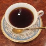 博物館に併設の喫茶室「UCC Coffee Road」で UCC直営農園「ブルーマウンテンNo.1」をいただく