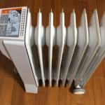ユーレックスのオイルヒーター(LFX8BH-IW)は1時間刻みの温度設定ができるマイタイマーが便利