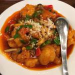 源烹輪分家「中国菜 一口品(いっこうぴん)」でボリューム満点の旨辛いエビチリで吉祥寺ランチ