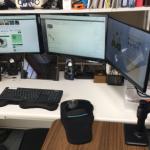自宅のパソコン環境をデュアルディスプレイからトリプルにして作業効率をさらにアップ!?