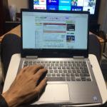 サンワダイレクトのひざ上テーブル「200-HUS005W」でノートパソコン&タブレットを自在に使いこなす