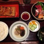 うなぎ 和食の「味乃宮川 吉祥寺店」でランチとしては贅沢ですが「蒲焼定食」をいただきました