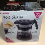 コーヒー 4人分を淹れるため大容量の粉とサーバー(HARIO V60 ドリップイン)を買ってみました