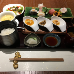 創作日本料理「KISSHO kichijoji(吉祥 吉祥寺店)」でお昼の「月替りおまかせ御膳」をいただく