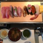 長年通う立喰い寿司の「魚がし日本一 吉祥寺南口店」ですがランチセットもおいしくてリーズナブル