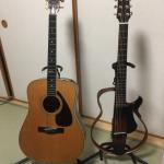 サイレントギター「YAMAHA SLG200S」をパルコの島村楽器で試奏した勢いで購入しちゃいました