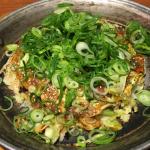 広島お好み焼き「吉祥寺 恋鯉(こいこい)」の平日限定ランチで「広島ねぎお好み焼き」をいただく
