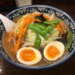 「吉祥寺第一ホテル」向かいにある「麺僧 北口店」で「野菜たっぷりらーめん」を堪能