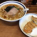 吉祥寺「一圓(いちえん)」本店で「拉麺(らーめん)」と「ひとくち焼餃子」のコラボを楽しむ