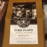 誕生日に「すずのすけの豆」でシアトルのスタバ 1号店のコーヒー豆を「お裾分け」してもらった
