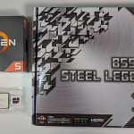 自作PC 用 CPU と M/B に AMD Ryzen 5 3500 と ASRock B550M Steel Legend を選んだ理由
