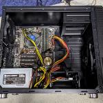 静音ケース ANTEC P5 と 500W電源を追加購入して古いマザーボードでサブマシンを組み立てました