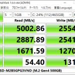 PCIe 4.0 M.2 の高速 SSD「CFD CSSD-M2B5GPG3VND 500GB」での Windows 10 の起動はいかに!