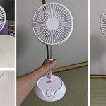 "<span class=""title"">十分な風量の小型コードレス扇風機で熱気がこもるキッチン、トイレ、洗面室を快適に</span>"