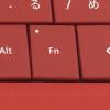 Surface 3 のタイプカバーでファンクションキーのロックと解除は「Fn」キーを押すだけ