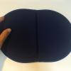 持ち運び便利な携帯クッション「エクスジェル mini PUNI(ミニプニ)」ネイビー PUN01-NV レビュー