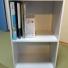 A4サイズのファイルや雑誌も収納できるカラーボックスでデッドスペースをなくしました