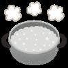 朝 5時に起きたら、まずはお湯を沸かして「白湯(さゆ)」を作って飲むことにしました