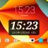 Android 端末のホーム画面で日時の数字を大きく見やすく設定できる「DIGI 時計ウィジェット」