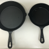 15cm の「ニトスキ(ニトリのスキレット)」が便利なので 19cm も買って料理に使ってみました