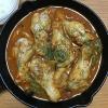 19cm の「ニトスキ(ニトリのスキレット)」で手羽元とキャベツのトマト煮込みを作ってみました
