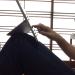 Surface Pro 3 の角度が変えられるキックスタンドならではのタブレット楽ちんポジション