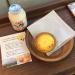「ニセコ高橋牧場」吉祥寺店で温めてトロッとおいしくなった「チーズタルト」をいただきました