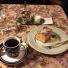 吉祥寺の老舗喫茶店「ゆりあぺむぺる」でモカとりんごのケーキをいただく