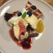 東小金井の「カフェ・フラココ」でフルーツソースが華やかなワッフルセットでまったり
