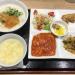 吉祥寺「東京王府(わんふー)」のお値打ち「日替わりランチ」は金曜日のエビチリとお粥で大満足
