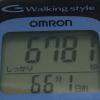 オムロンのヘルスカウンタ(歩数計) Walking style HJ-113 が現役復帰!